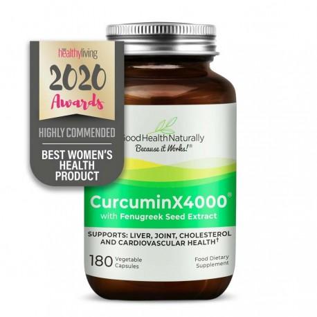 CurcuminX4000™ with Fenugreek Capsules Home