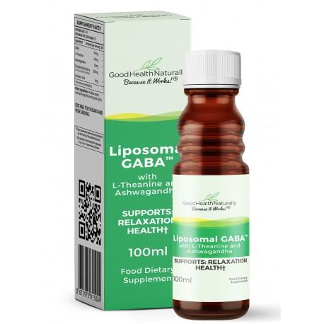 Liposomal GABA with L-Theanine and Ashwagandha - 100ml